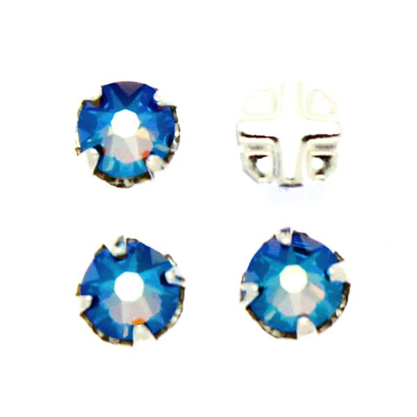 Erinite Shimmer Swarovski Rose Montées ss30 53103 4st