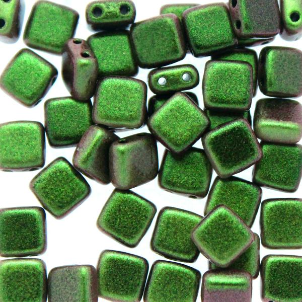 Polychrome Olive Mauve Tile 10g