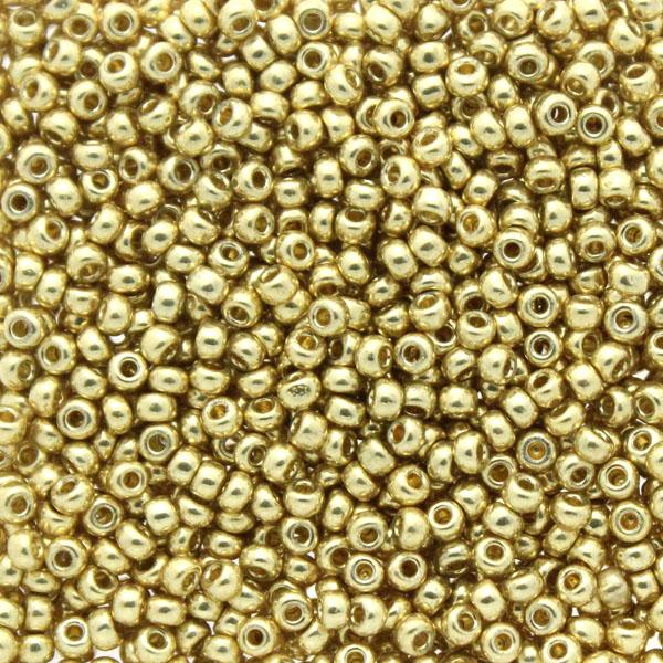Duracoat Galvanized Pale Gold 11-5101 Miyuki 11/0 10g