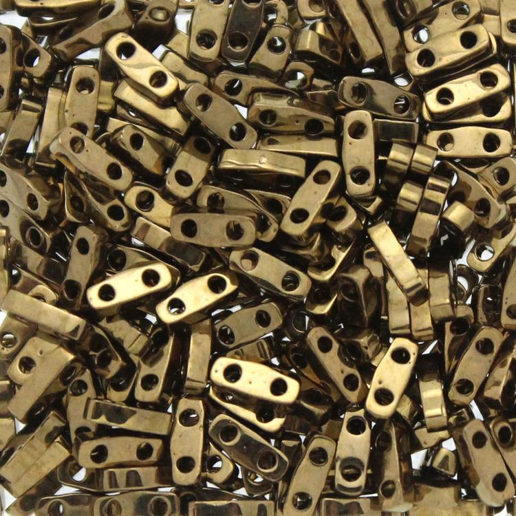 Metallic Dark Bronze QTL0457 Miyuki Quarter Tila 5g
