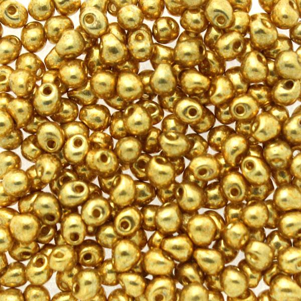 Duracoat Galvanized Gold DP-4202 Miyuki Drops 3,4mm 10g