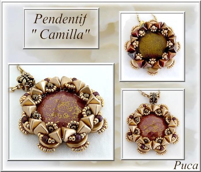 Pendentif Camilla