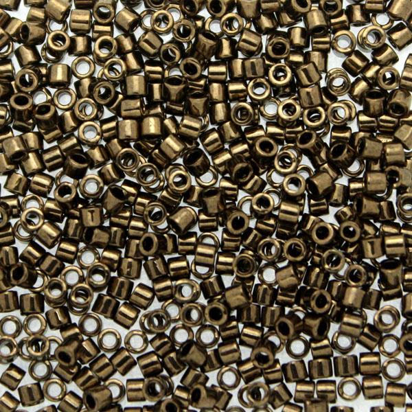Metallic Dark Bronze DBM-0022 Delicas 10/0 5g