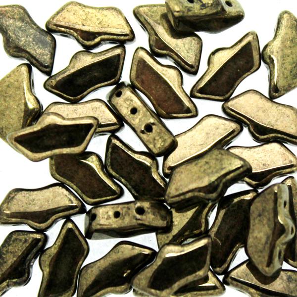 Jet Dark Gold Bronze Delos 10g