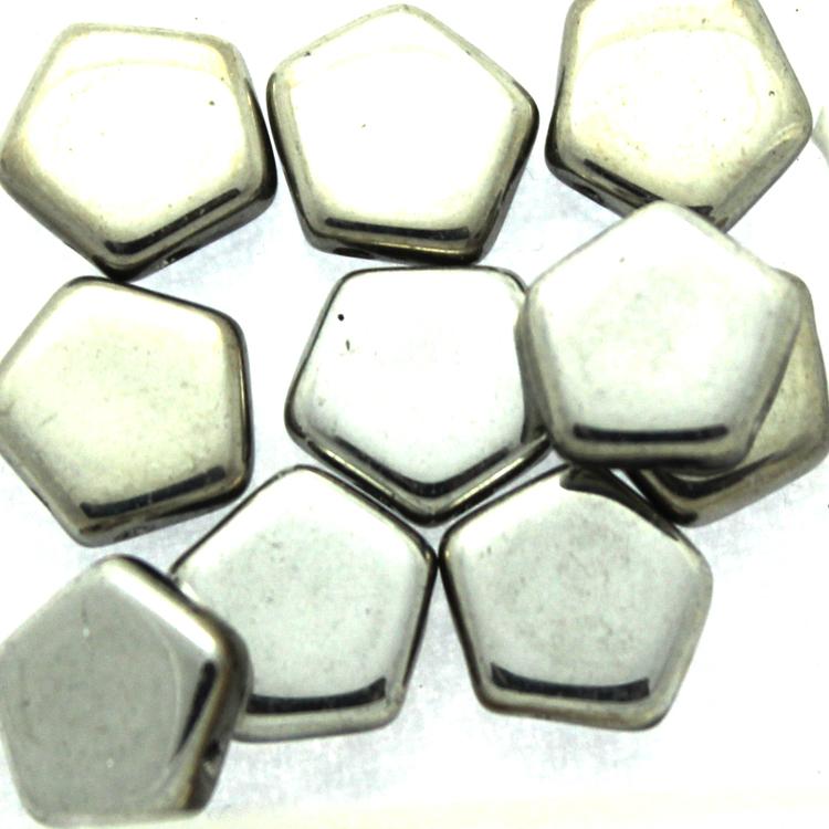 Crystal Labrador Full Pego Bead 10mm 10st