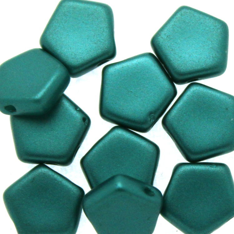 Alabaster Pastel Emerald Pego Bead 10mm 10st