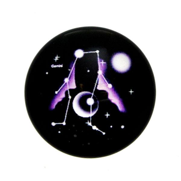 Stjärntecken Tvillingarna/Gemini Cabochon 25mm 1st