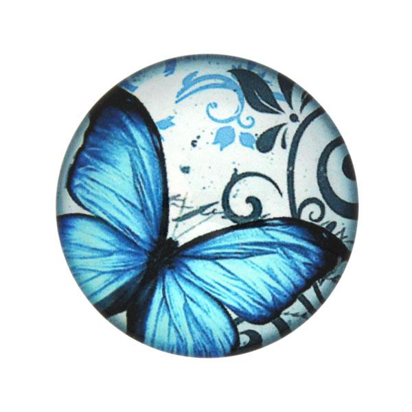 Fjärilar med Text 1 Cabochon 25mm 1st