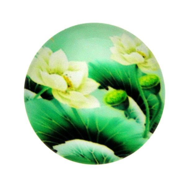 Blommor 8 Cabochon 25mm 1st