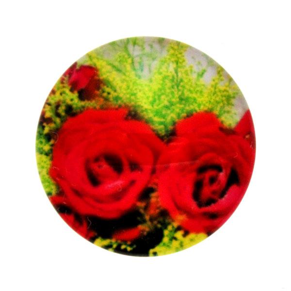 Blommor 9 Cabochon 25mm 1st