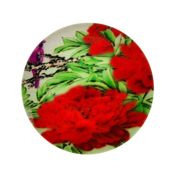 Blommor 12 Cabochon 25mm 1st