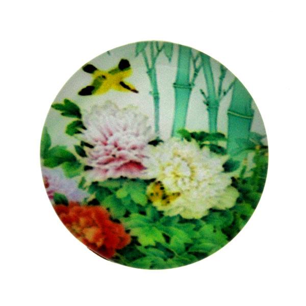 Blommor 24 Cabochon 25mm 1st