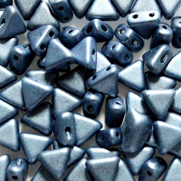 Metallic Suede Blue Khéops 10g