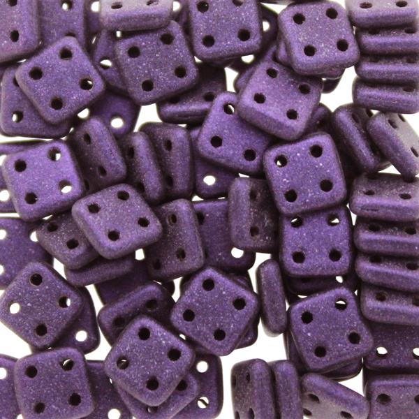 Metallic Suede Purple Quadratile 10g