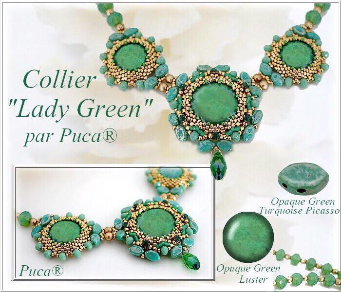 Halsband Lady Green