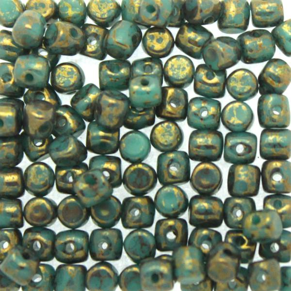 Green Turquoise Teracota Bronze Minos 5g