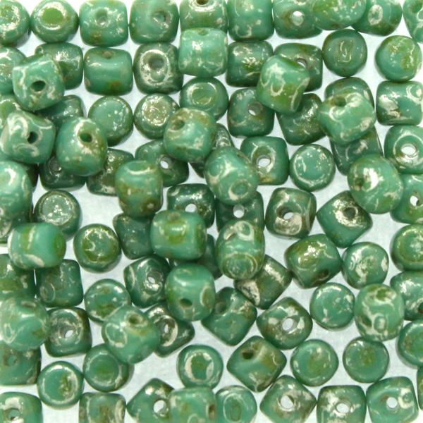 Green Turquoise Patina Silver Minos 5g