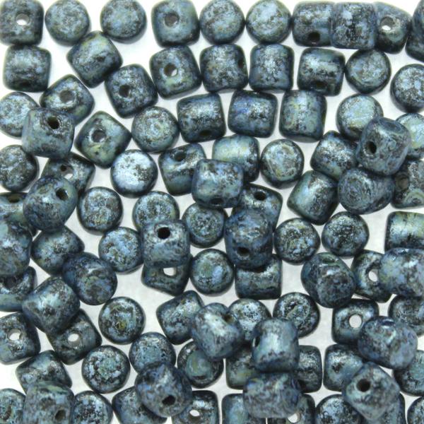 Metallic Mat Blue Spotted Minos 5g