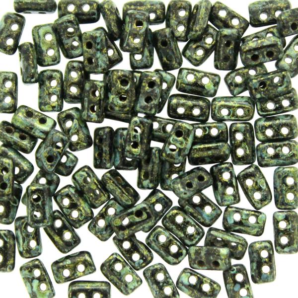 Metallic Mat Green Spotted Piros 5g