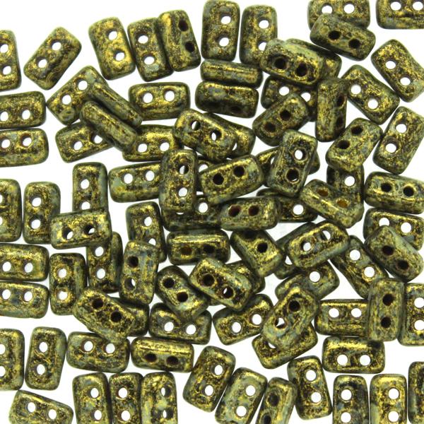 Metallic Mat Old Gold Spotted Piros 5g