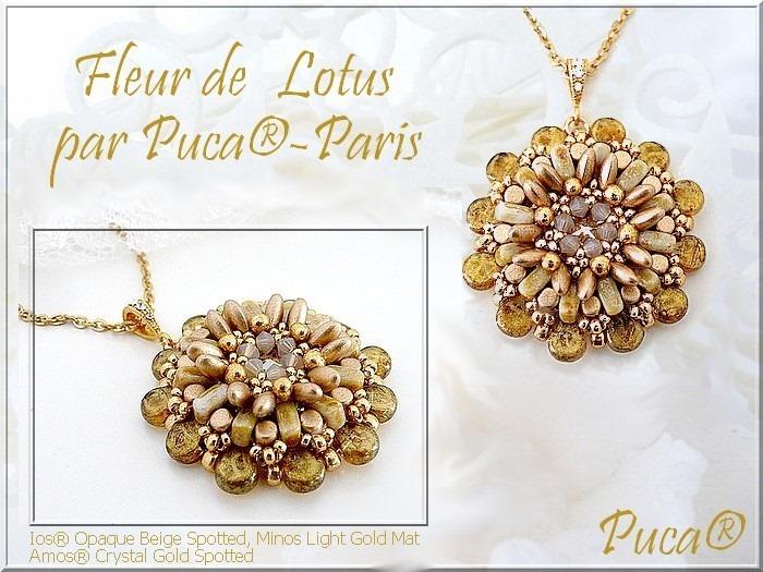Hänge Fleur De Lotus