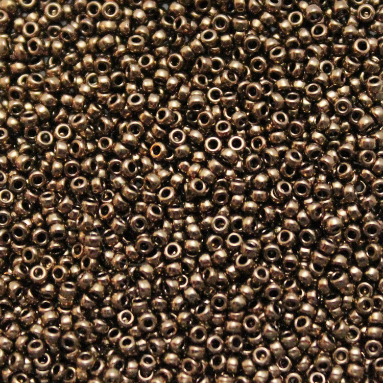 Metallic Dark Bronze 15-0457 Miyuki 15/0 5g