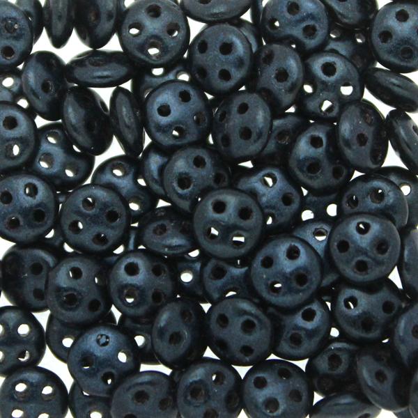 Metallic Suede Dark Blue Quadralentil 10g