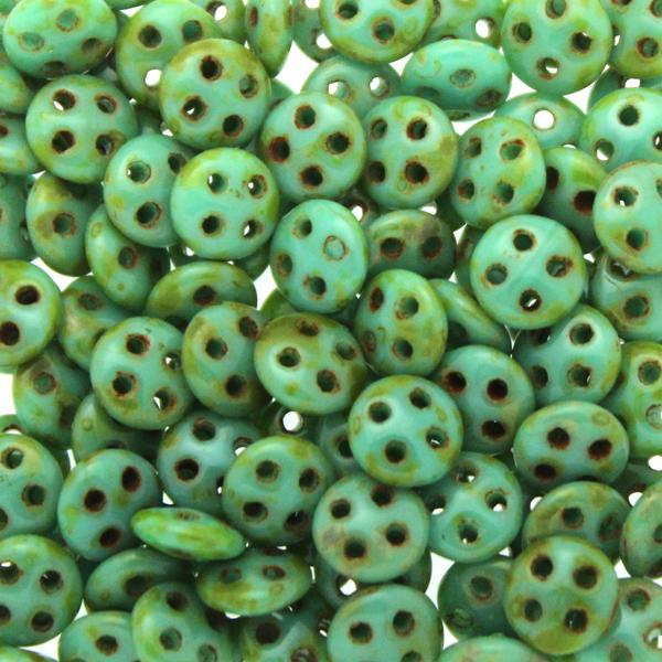 Green Turqoise Picasso Quadralentil 10g
