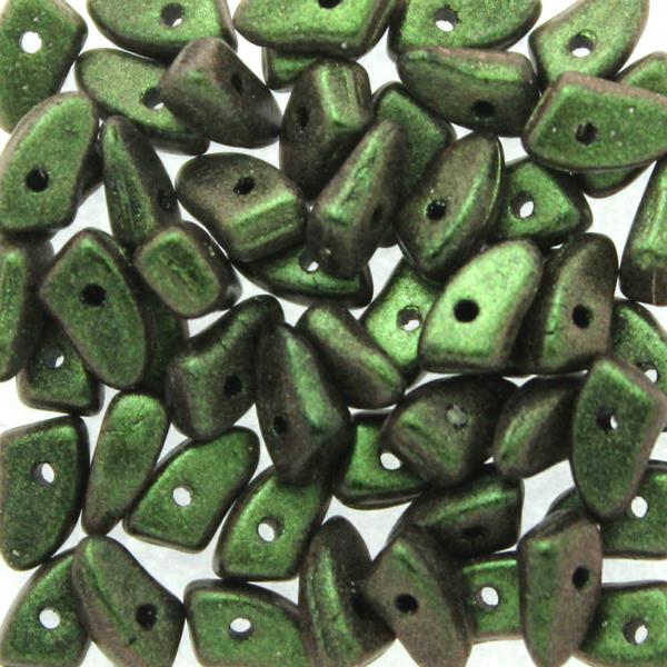 Polychrome Olive Mauve Prong 5g