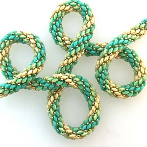 Halsband Ombre Rope
