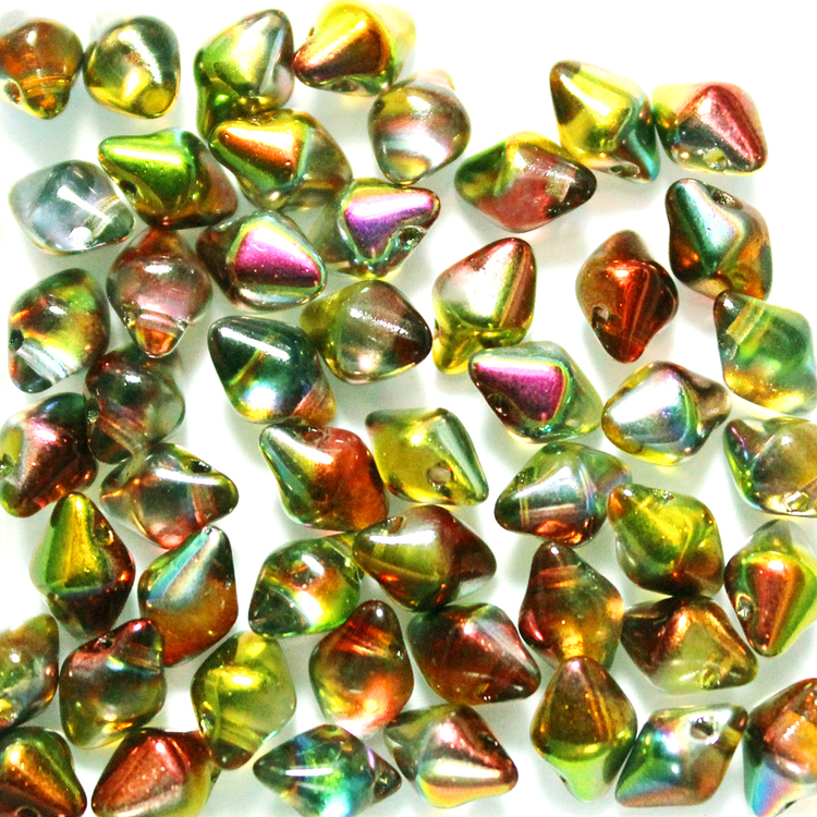 Crystal Magic Apple Spiky Button 50st