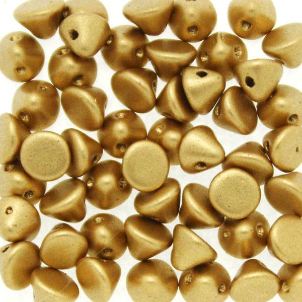 Aztec Gold Button Bead 50st