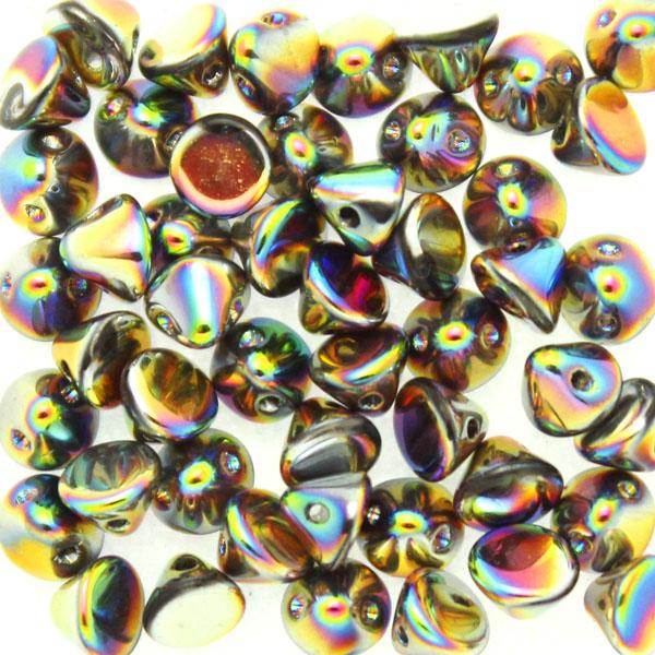 Crystal Vitrail Full Button Bead 50st