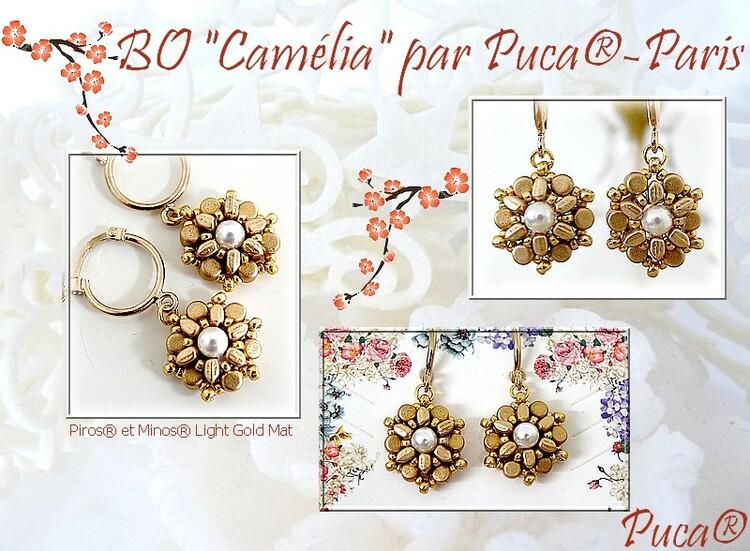 Örhängen Camélia