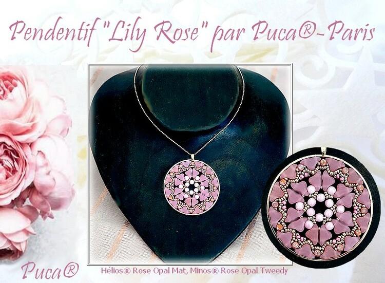 Hänge Lily Rose