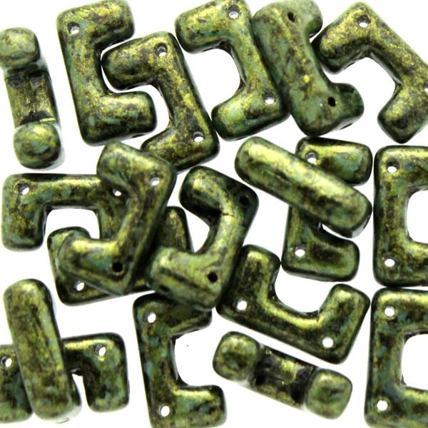 Metallic Mat Green Spotted Telos 10g
