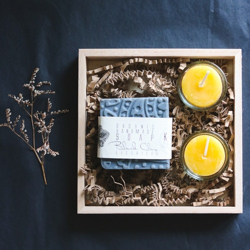 Njutningspaket med doft av lakrits och honung