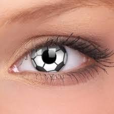 Faceloox Football Crazy Lens 1 styck utan styrka