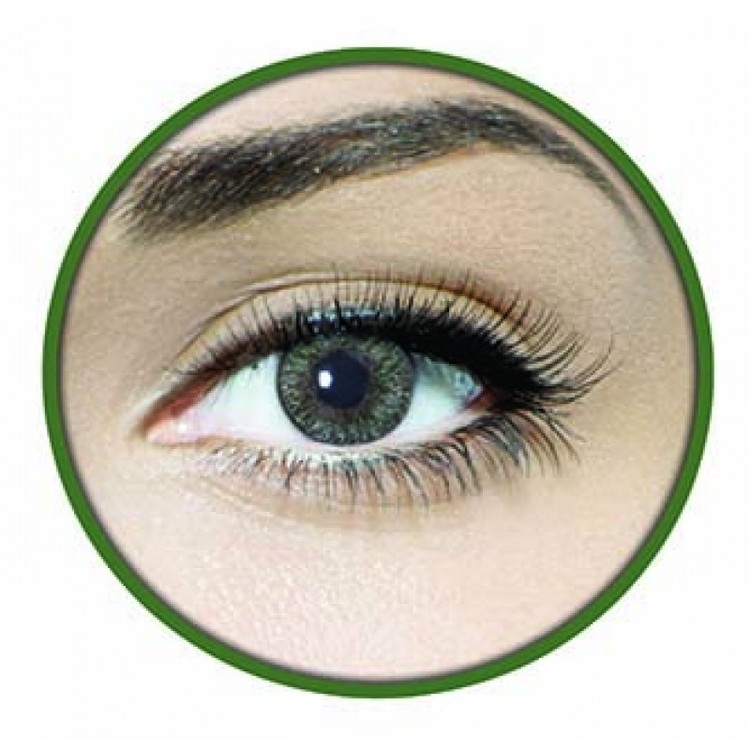 6-Faceloox Naturals Clear Green Utan Styrka