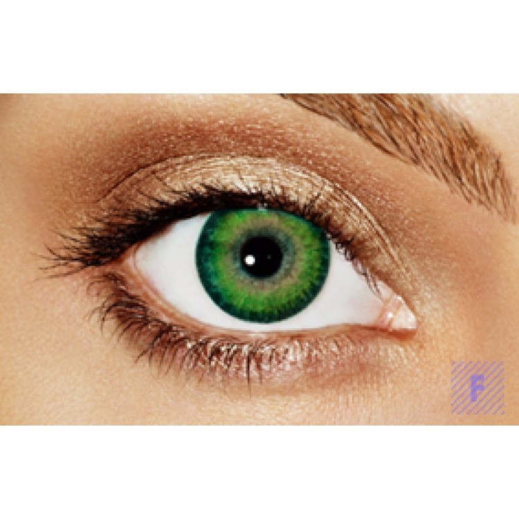 Freshlook Dimensions Sea Green Without Power