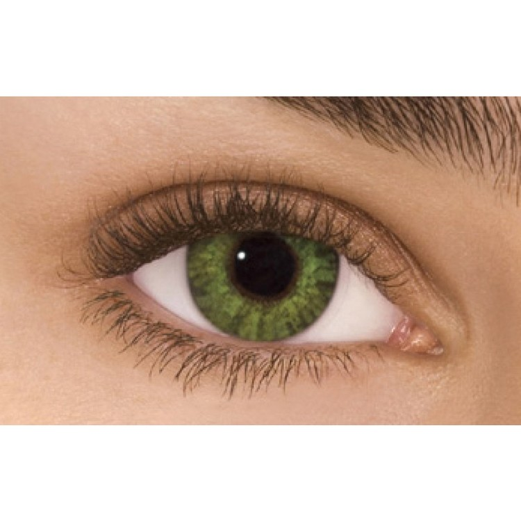 Freshlook Colorblends Gemstone Green Without Power