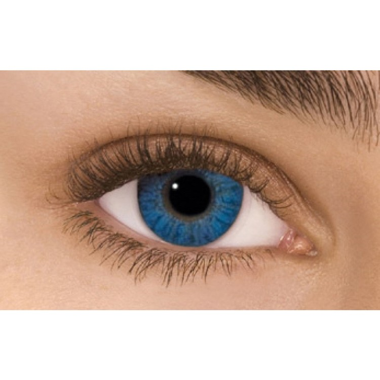 Freshlook Colorblends Brilliant Blue Without Power