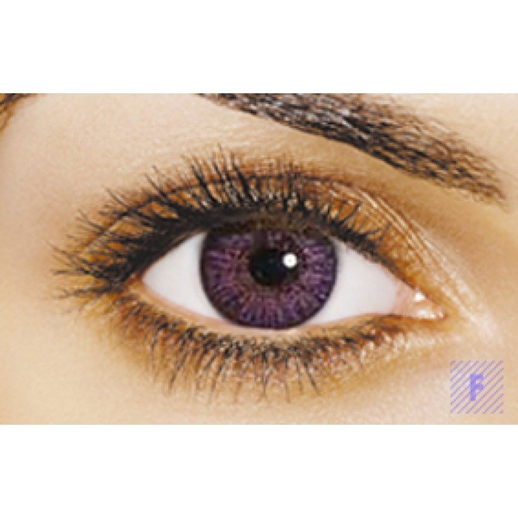 Freshlook Colorblends Amethyst Without Power
