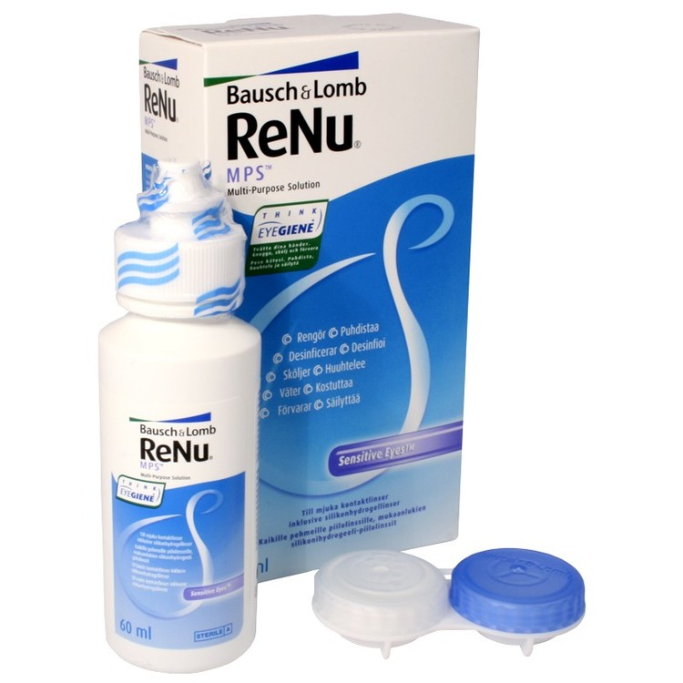 Startkit lens solution 60ml ReNu MPS + lens container