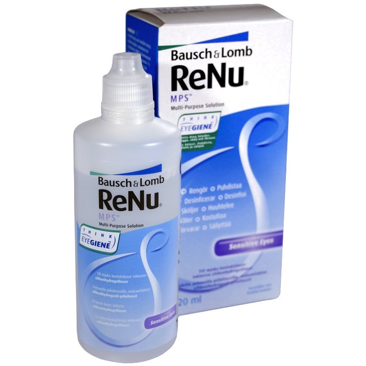 Renu 120ml Multi-purpose Solution linsvätska