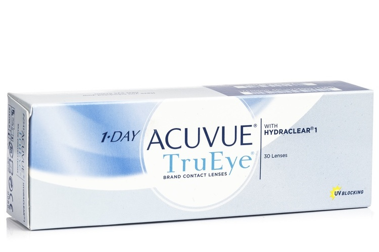 1-Day Acuvue TruEye, 30-pack