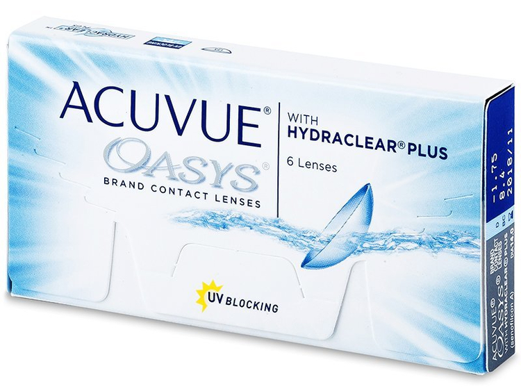 Acuvue Oasys one 6 pack