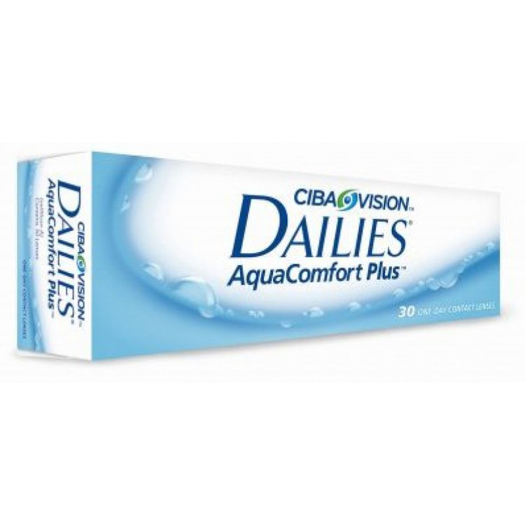 Dailies Aqua Comfort Plus, 30-pack