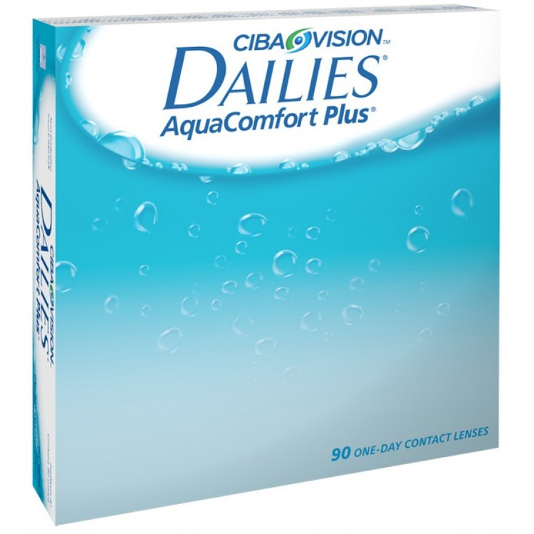 Dailies Aqua Comfort Plus, 90-pack