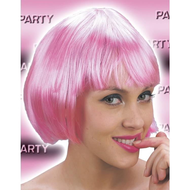 Wig -Pink short